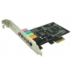 Approx Tarjeta de Sonido 5.1 PCI Express