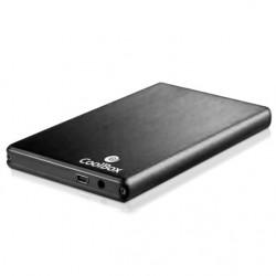 """CoolBox 2520 Carcasa HDD 2.5"""" SATA Plata"""