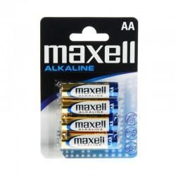Maxell Pila Alcalina AA LR6 x4