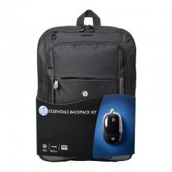 """HP Essentials Kit Mochila + Ratón hasta 16"""""""