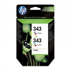 Pack Ahorro HP Nº343 Tricolor x2