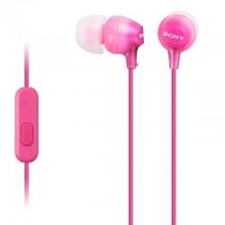 Auriculares Sony EX15APP MICRO ROSA