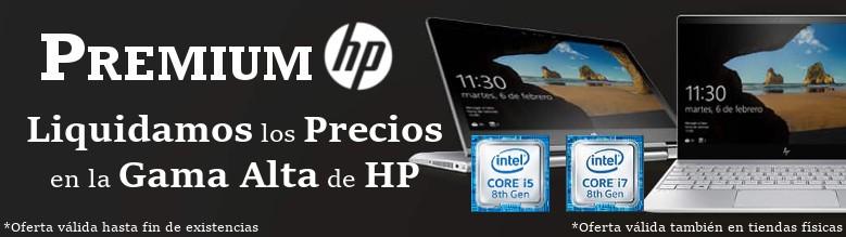 Grandes Descuentos en la Gama Alta de HP.